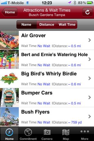 Falando De Viagem Aplicativo Busch Gardens