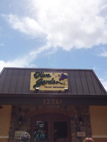 Falando de Viagem Olive Garden Lake Buena Vista