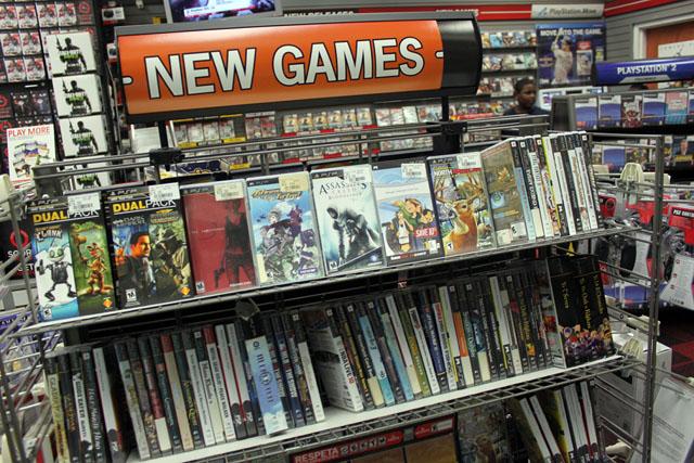 Game Stop: cartucho de video game