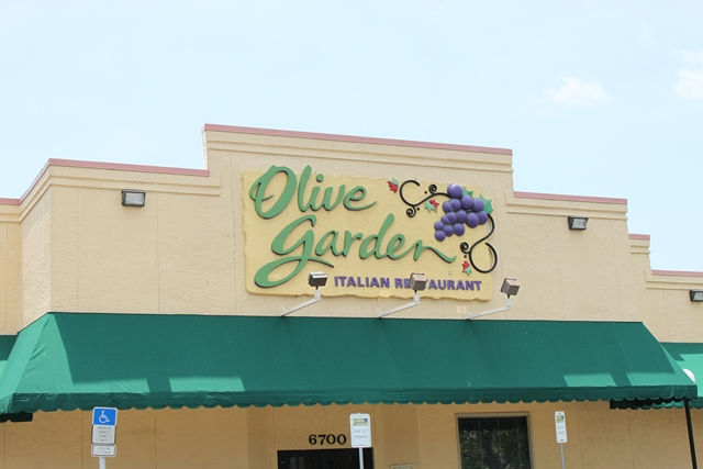 olive garden de pinellas park falando de viagem