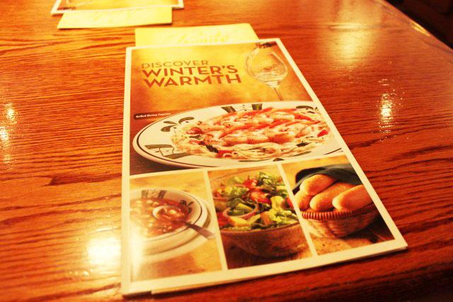 Olive Garden Winter Haven Falando De Viagem