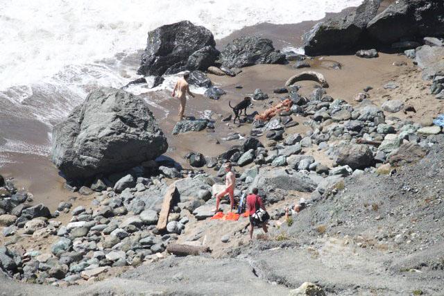 Falando de Viagem Praia de nudismo em San Francisco