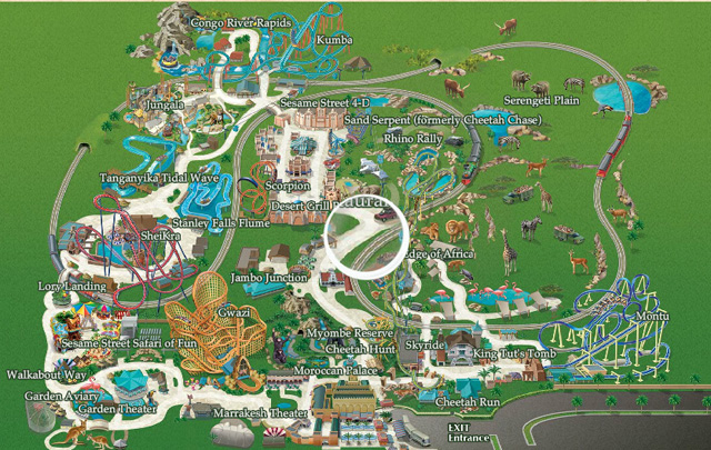 Pin mapa busch gardens orlando flexticket on pinterest How far is busch gardens from orlando