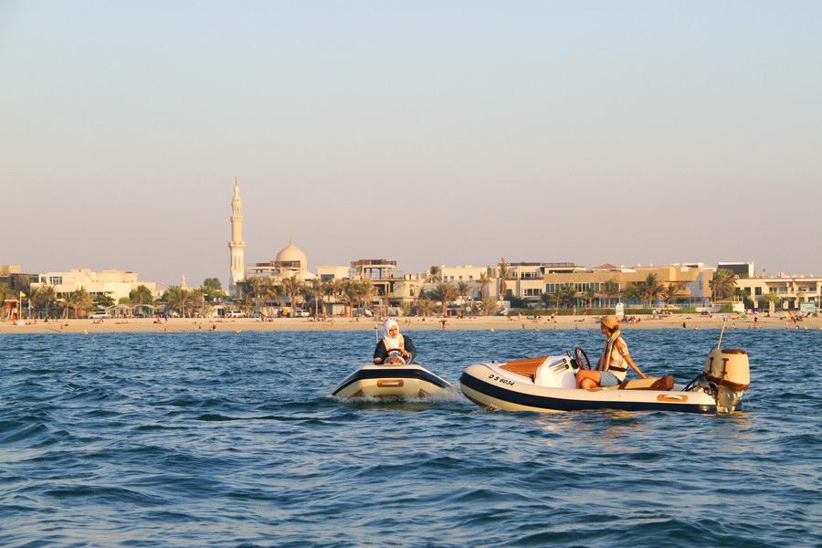 Hero OdySea, o passeio de lancha mais legal de Dubai.