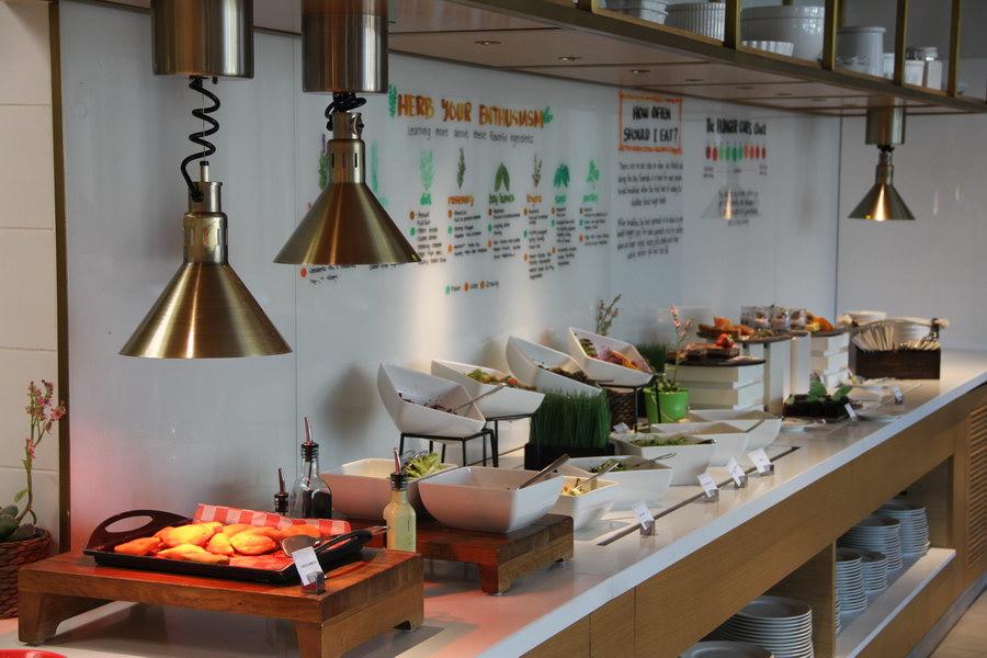 Café da manhã, no Garden Grille Dubai