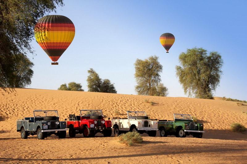 Hot Air Balloon Dubai.