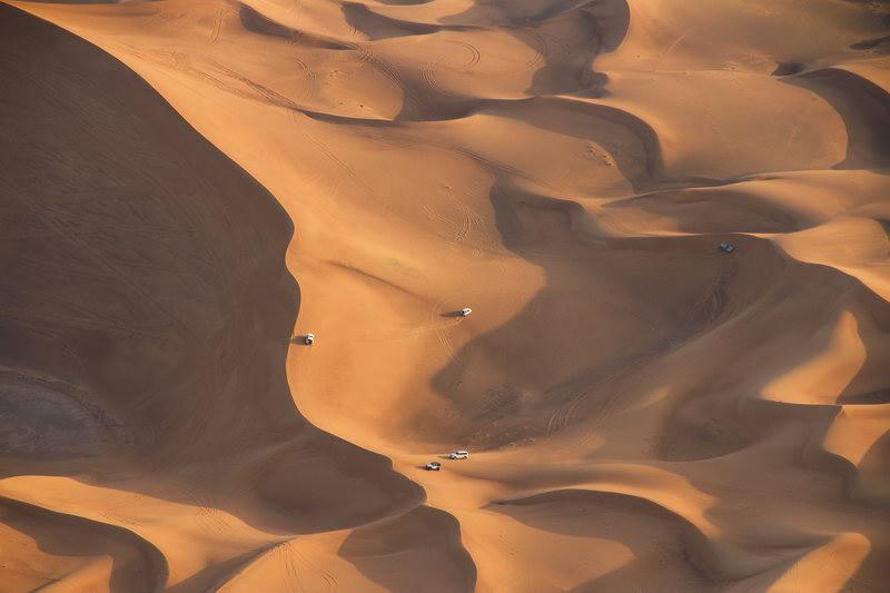 Dunas de Dubai.