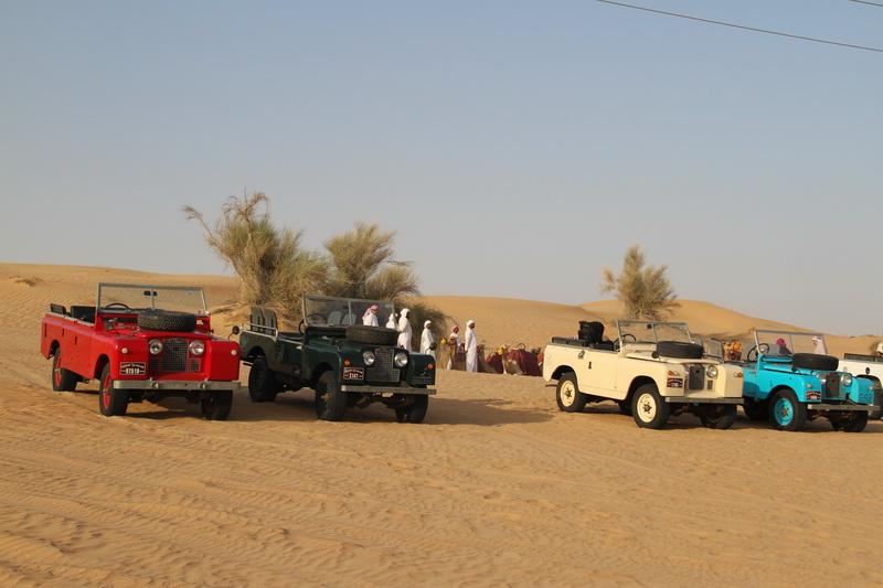 Escolhendo seu Platinum Heritage Land Rover