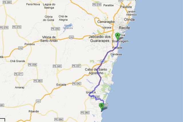 Aeroporto Porto De Galinhas : Falando de viagem como ir recife até porto galinhas