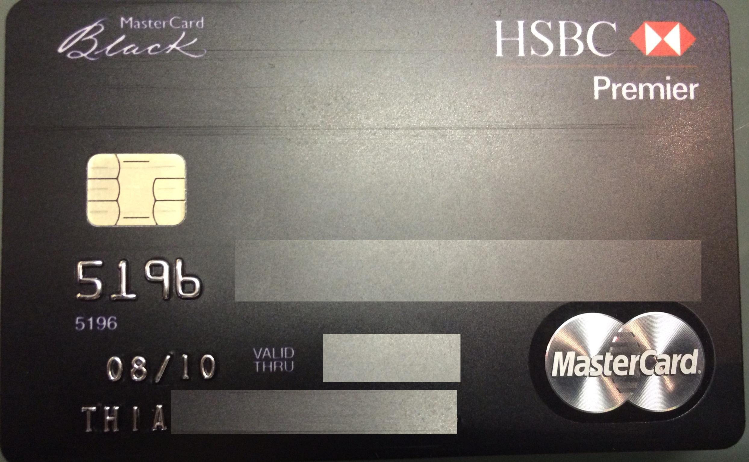 Cartão de crédito HSBC Premier MasterCard Black • Falando de Viagem