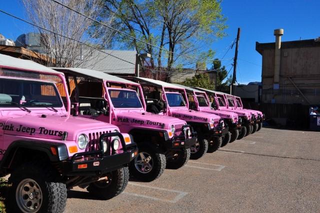 Passeio Pink Jeep Tours Pelo Grand Canyon