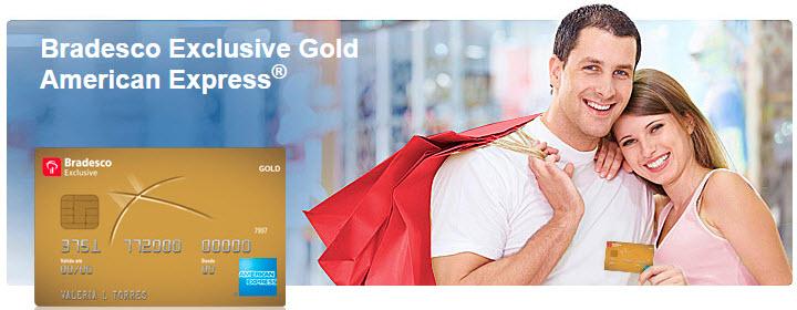 Bradesco Exclusive Gold American Express.