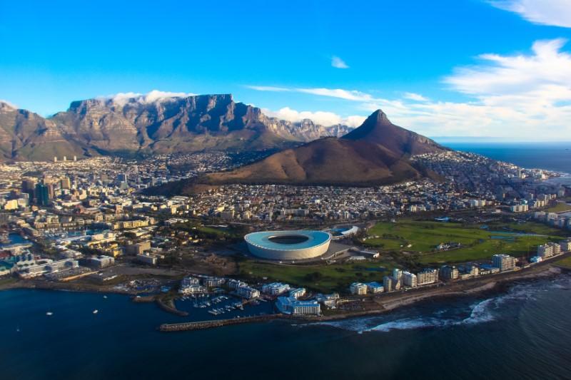 A Cidade do Cabo encanta pela sua beleza.