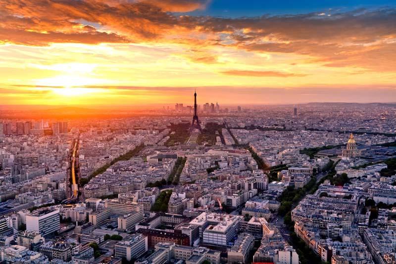 Paris é tão linda que merece ser vista de todos os ângulos.