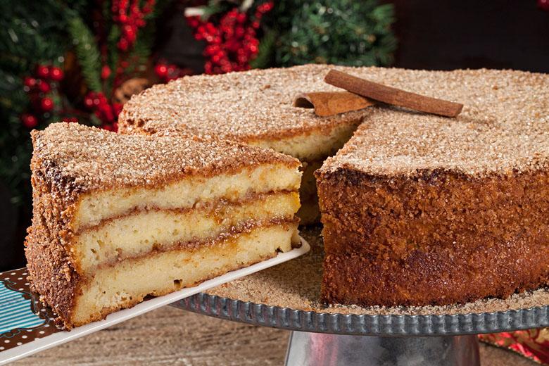A irresistível torta de rabanada.