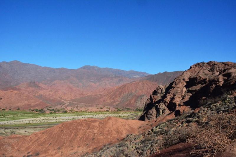 Paisagens da estrada Cafayate - Salta