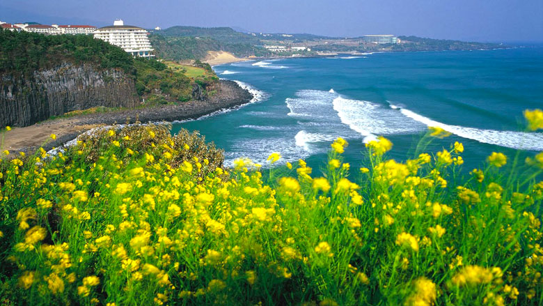 A Ilha de Jeju.