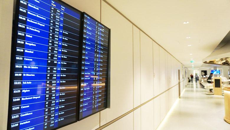 Informações sobre os voos.