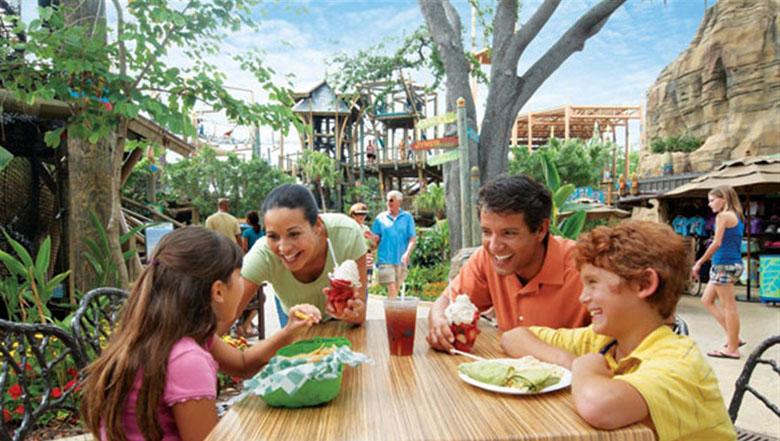 O All Dining Deal oferece custo-benefício na alimentação dos parques do grupo SeaWorld.