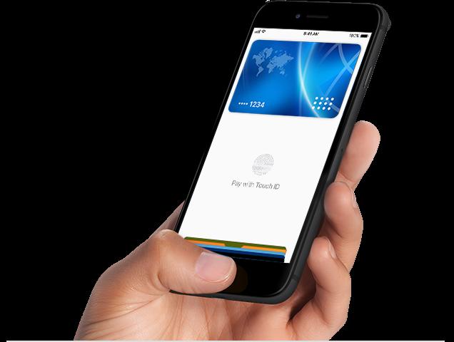 Seu iPhone se torna uma carteira virtual.