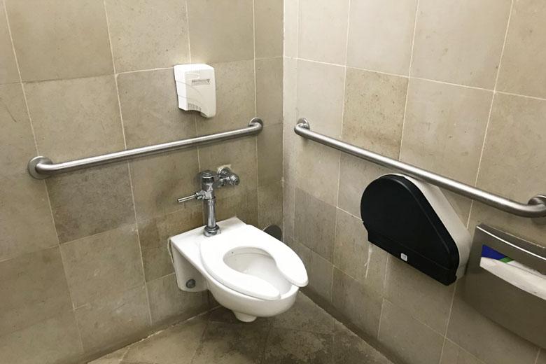 Banheiro da sala VIP.