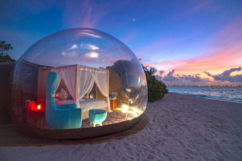 A suíte Beach Bubble.
