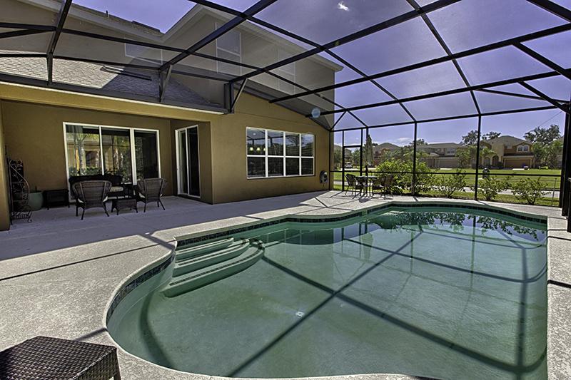 Você pode curtir a piscina a hora que desejar.