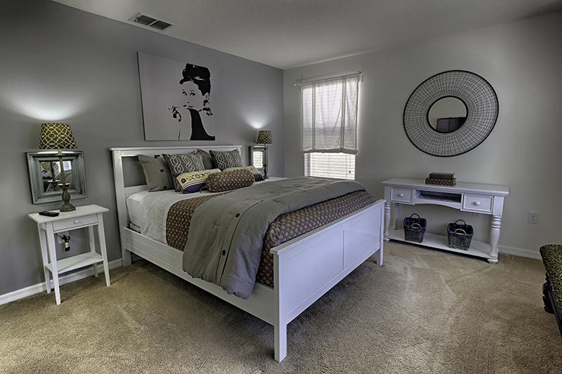 Todos os quartos são bonitos e confortáveis.
