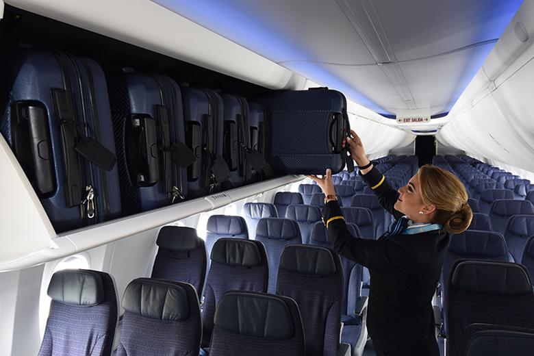 Maior espaço interno para a bagagem.