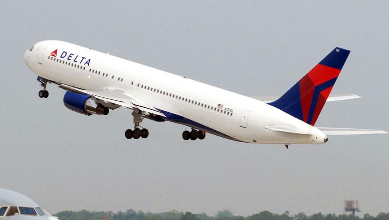 Aeronave da Delta Air Lines.