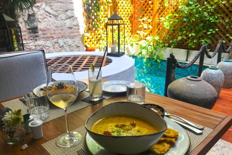O restaurante Alma foi um dos que mais gostamos.