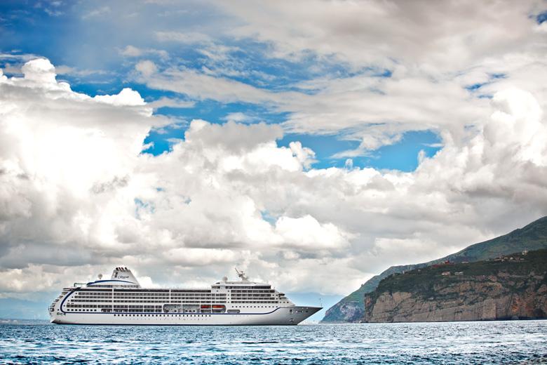 O navio que fará essa viagem inesquecível.