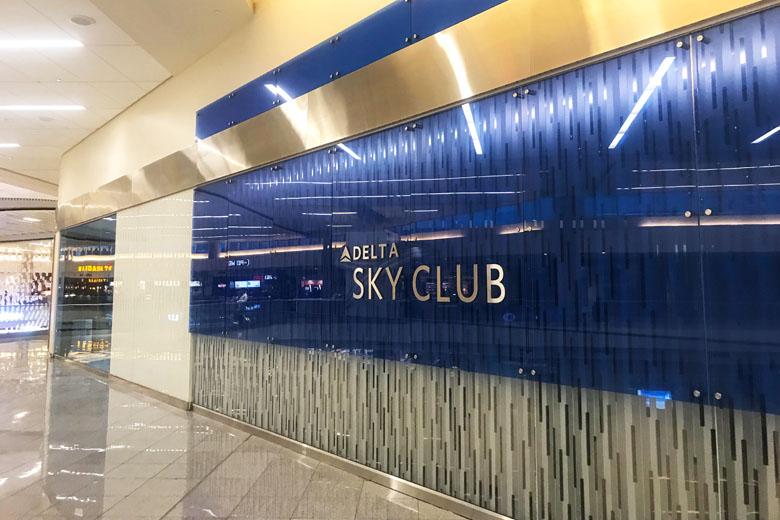 O Delta Sky Club é o melhor lugar do aeroporto para aguardar o voo.