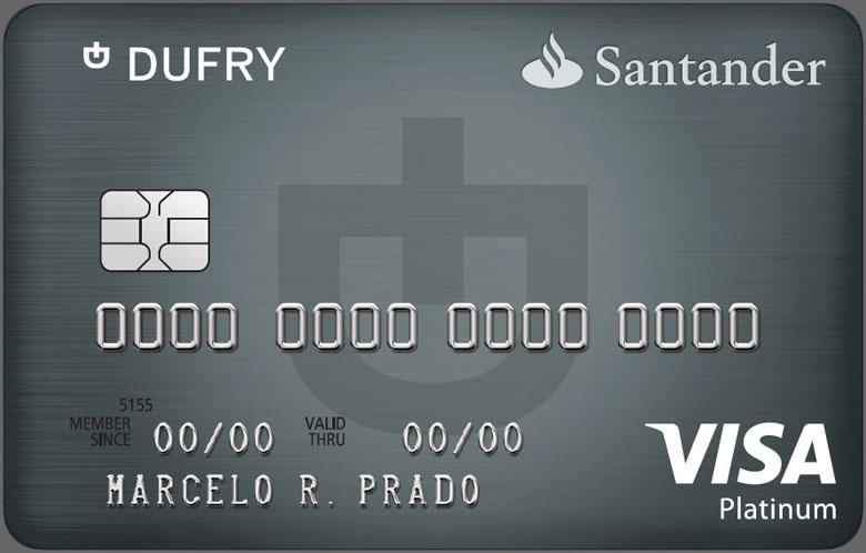 O Santander Dufry Platinum dá desconto nas lojas Dufry.