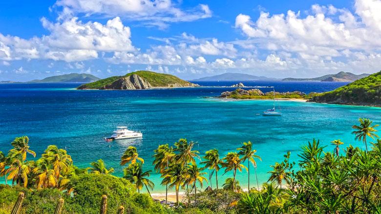 As Ilhas Virgens Britânicas são um dos destinos mais exclusivos e luxuosos do Caribe.