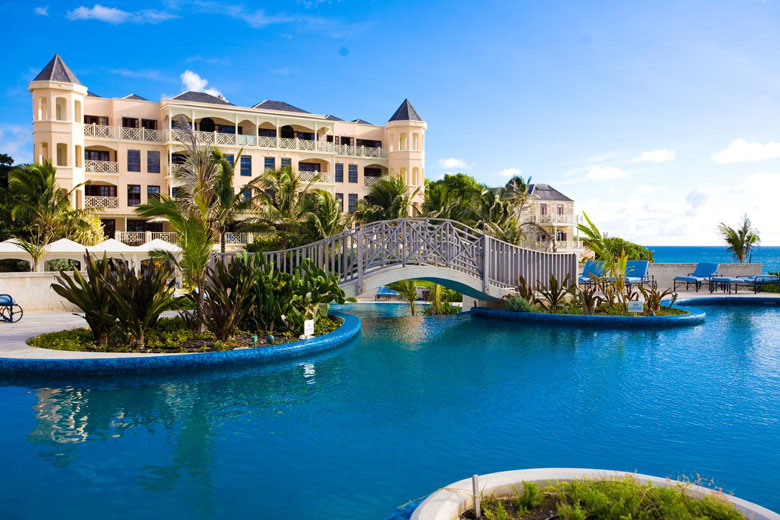 O lindo visual do The Crane Resort.