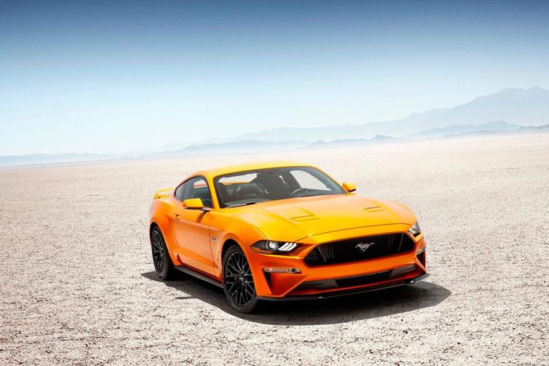 O Ford Mustang está disponível em praticamente todas as locadoras americanas.
