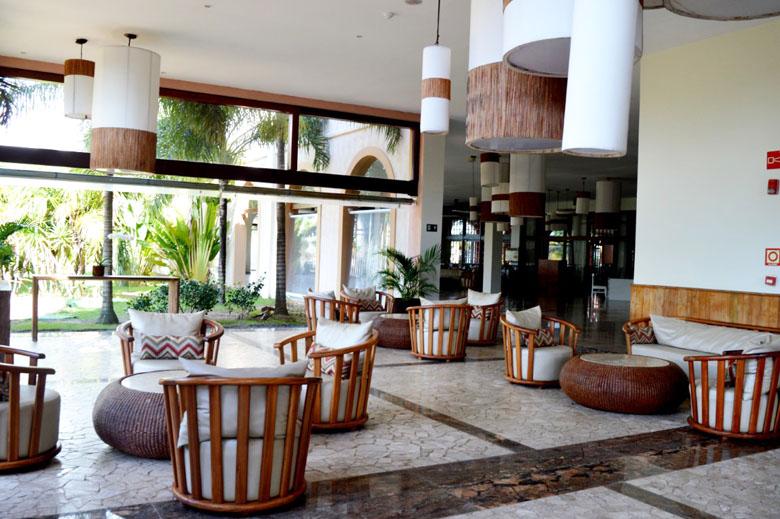 Decoração no Grand Palladium Imbassaí Resort e SPA.