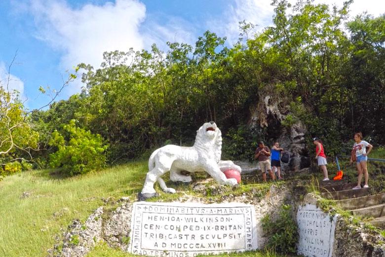 O White Lion Gun Hill Fort.