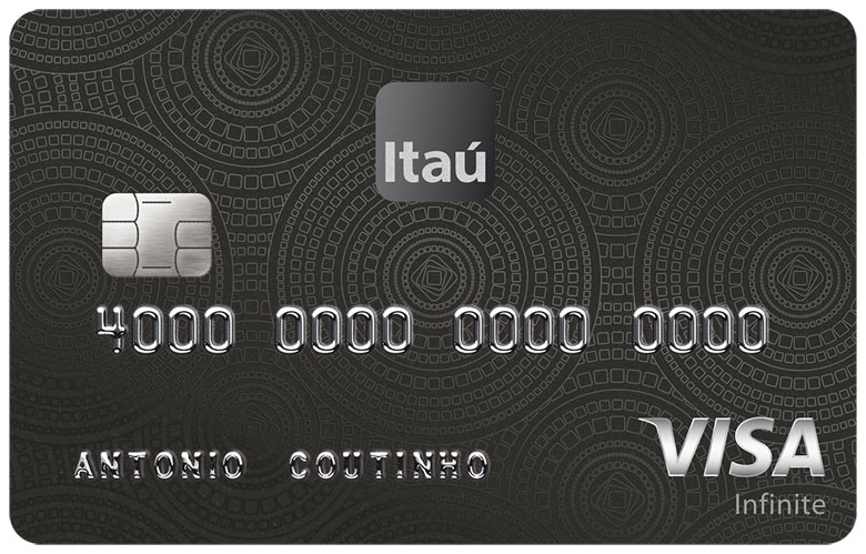 Itaucard Corporate Visa Infinite.