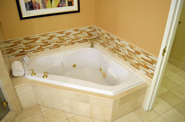 Banheiro do quarto do JW Marriott Las Vegas.