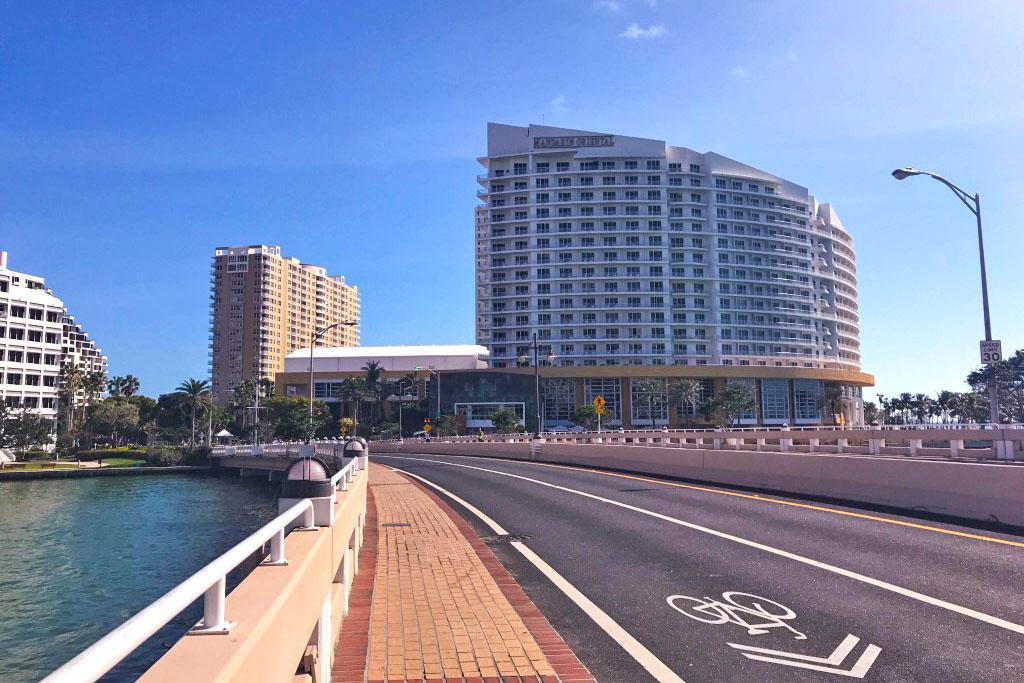 O Mandarin Oriental, Miami é um dos hotéis mais premiados dos EUA.
