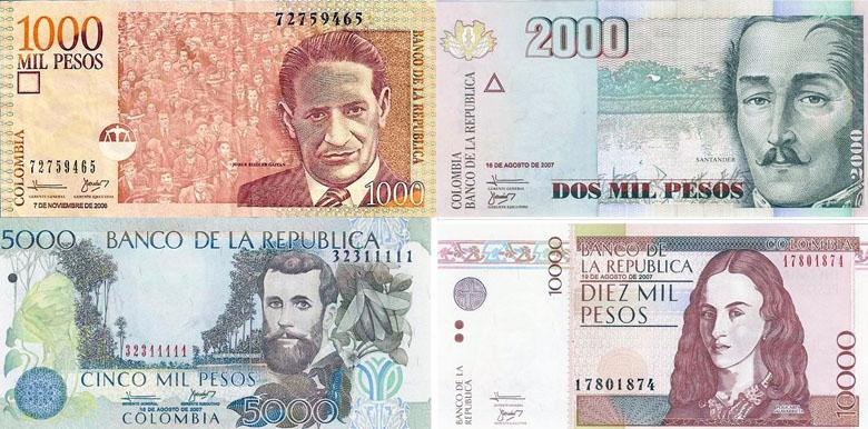 A moeda na Colômbia é o peso colombiano, mas você consegue fazer câmbio no país usando reais.
