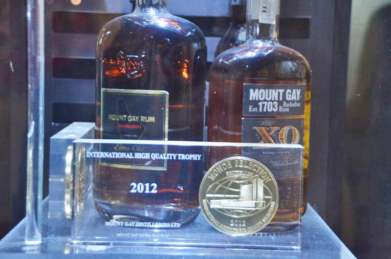 Algumas garrafas carregam além da história, muitos prêmios.