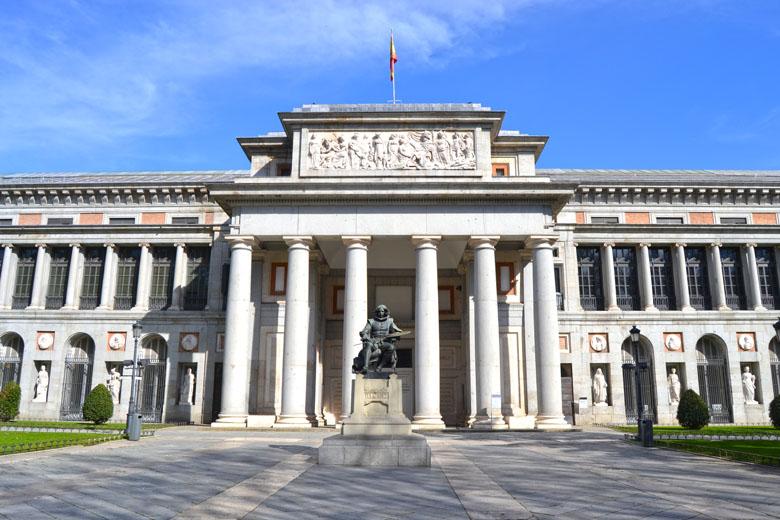 O prédio do Prado.