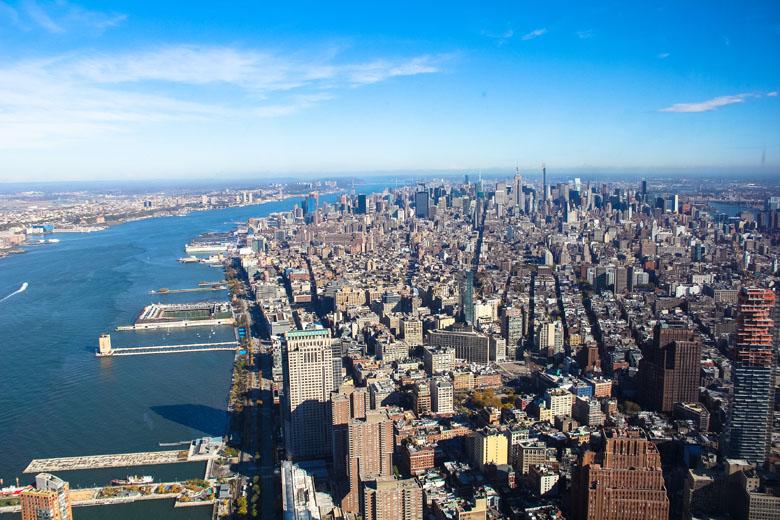 Chegar até Manhattan não é rápido e tampouco barato, mas vale a pena!
