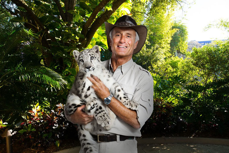 O especialista Jungle Jack Hanna.