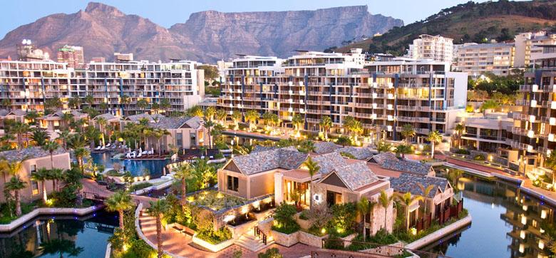 O One&Only Cape Town impressiona pela sua beleza e exclusividade.