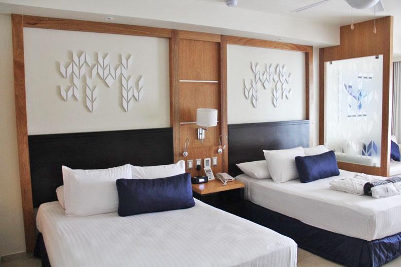 As confortáveis camas.