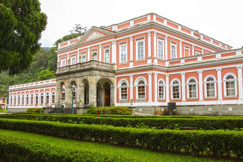 Palácio Imperial, em Petrópolis.
